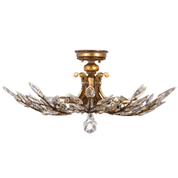 Fine Art Lamps Crystal Laurel Gold Collection