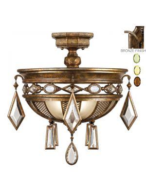 Fine Art Lamps Encased Gems Ceiling Fixtures Ceiling Mounts