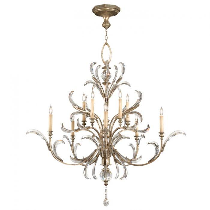 Fine Art Lamps Beveled Arcs Chandelier Fal 701340