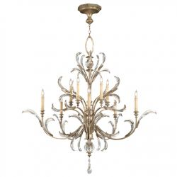 Fine Art Lamps Beveled Arcs Ceiling Fixtures Chandeliers